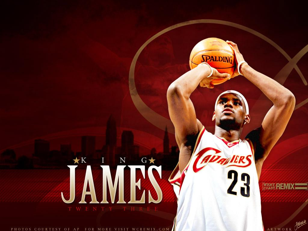 King Lebron James Logo